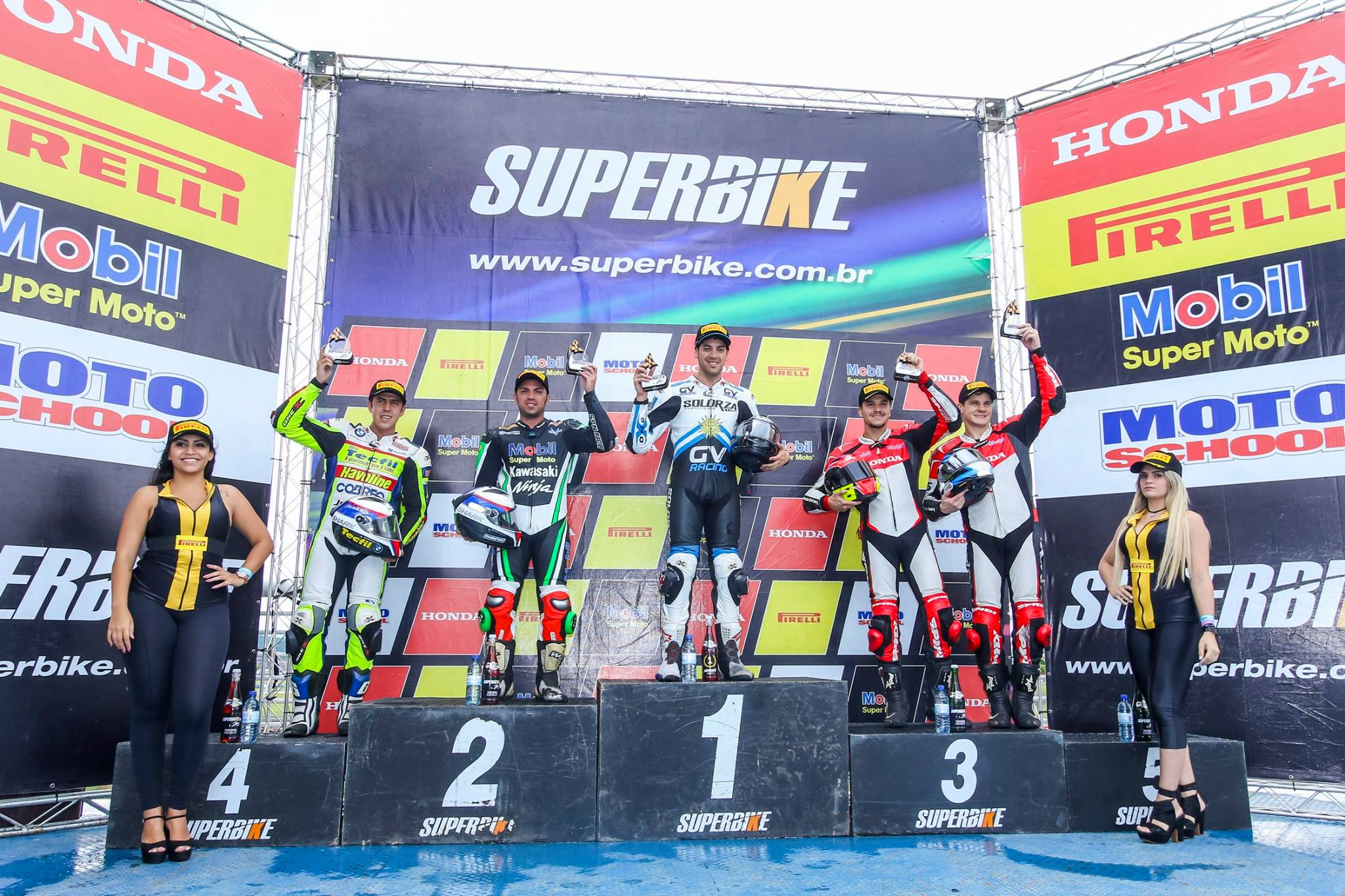 Marco Solorza 1º colocado na categoria Superbike Pro